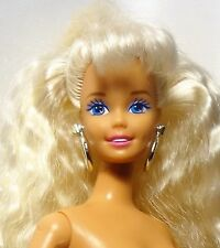 Muñeca Barbie 1994 movimientos de baile Poseable Articulado rubia ojos azules desnuda