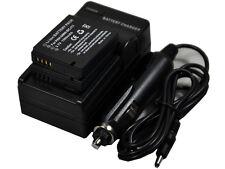 New 2 piece DMW-BCJ13 Battery and Charger for DMC-LX7GK LX7K LX7W LX7 LX5W LX5K