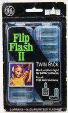 Vintage GE Flip Flash II Twin Pack Camera Bulbs, SEALED! (New Old Stock)
