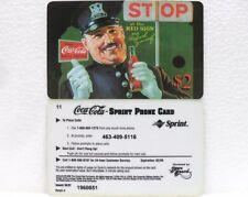 Coca-Cola - SCORE BOARD-SPRINT PHONE CARD n° 10 - sc. 02-98-scheda telefonica