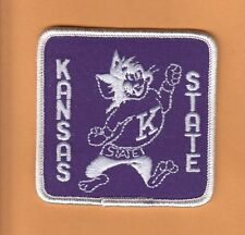 OLD KANSAS STATE WILDCATS 3 INCH PATCH UNUSED UNSOLD STOCK