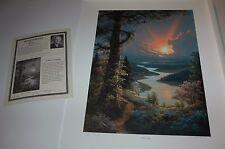 Jesse Barnes A SILVER LINING S/N paper art print MINT w/COA by Painter of Light