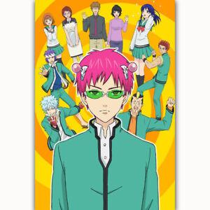 C250 The Disastrous Life of Saiki K Anime Season 2 24x36 21 Poster