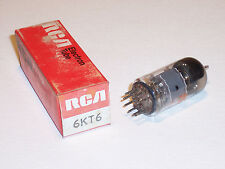 Rca 6Kt6 Vacuum Tube Tested New Old Stock Free Shipping