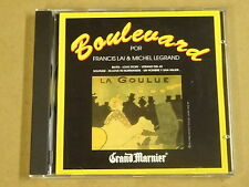 CD / BOULEVARD POR FRANCIS LAI & MICHEL LEGRAND - GRAND MARNIER