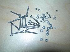 M3 x 12 Socket CAP Head Bulloni Confezione da 20 + RONDELLE ELASTICHE & FULL hex nuts