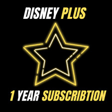⭐ Disney plus ⭐ 1 year subscription ⭐ 4K ⭐ fast delivery ⭐