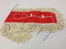 "TUS 3050R Cotton Pro Natural Cotton Blended Dust Mop Head / 30"" x 5"""