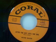 """WAYNE WALKER """"AFTER THE BOY GETS THE GIRL / JUST BEFORE DAWN"""" 45"""