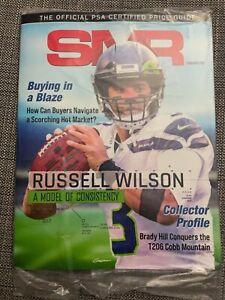 NEW & SEALED! Sports Market Report SMR PSA February 2021 Magazine Russell Wilson