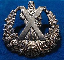 Canadian Forces BIRKS silver ? Queen's Own Cameron Highlanders Canada cap badge