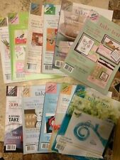 Card Making Idea Books - Stampers' Sampler Take Ten (card ideas in 10 minutes)