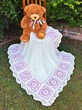 Handmade Breathable Cot Nursery Blankets & Throws
