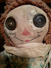 Haunted Creepy Raggedy  Ann Doll