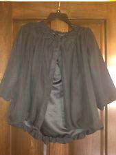 Brand New! Womens Simply Vera Wang Black Bolero Cropped Jacket Sz XSmall XS 2 4