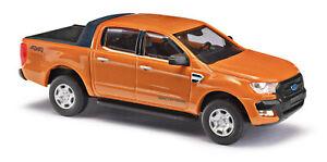 Busch 52804 Ford Ranger Orange » Wildtrak, Modèle 1:87 (H0)