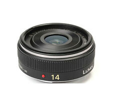 Panasonic Lumix G 14mm F/2.5 ASPH H-HO14E Lens for M3/4 - Black