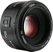 YONGNUO YN50mm F/1.8 AF/MF Auto Focus Lens for Canon EF Mount EOS Camera