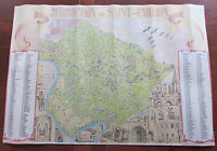 France Map French Juridiction de Saint Emilion Wall Hanging Art Poster 26.5x18.5