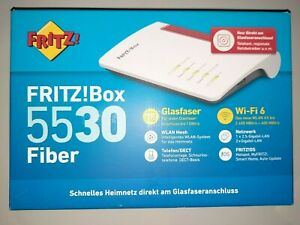AVM FRITZ!Box 5530 Fiber - Glasfaser Router - WiFi 6 - Neu - OVP