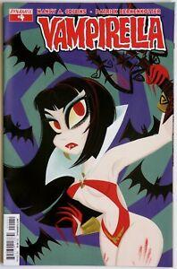 Vampirella #4 Vol 2 SUB Variant - Dynamite - Nancy A Collins - P Berkenkotter