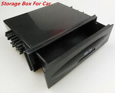 Car Auto Single Din Dash Radio Installation Large Space Pocket Kit Storage Box (Fits: Commercial Chassis)