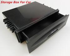 Car Auto Single Din Dash Radio Installation Large Space Pocket Kit Storage Box