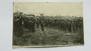 Military Postcard 5th Yorkshire Regiment At Richmond Camp 1909.