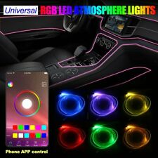 Auto RGB LED Ambientebeleuchtung Innenraumbeleuchtung Lichtleiste App Control