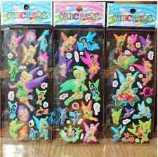 Animation Tinker Bell 3D Children Stereoscopic Stickers-Lot Of 3 Kids  gift
