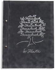 A4 Stammbuch der Familie Breris, grau Familienstammbuch Stammbücher Din A4