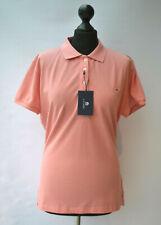 GANT Original Pique Polo Shirt Top Womens Strawberry Pink Sz. XL Cotton Collared