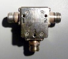 CHANNEL MICROWAVE BU339 CIRCULATOR 860-900 MHz TYPE N COAXIAL RF