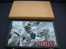 Nirvana Bleach & Nevermind  EU CD in Wooden Box Foo Fighters