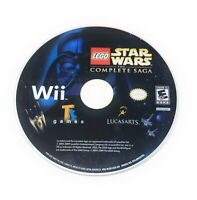 LEGO Star Wars: The Complete Saga (Wii, 2007) Disc Only ☆Tested☆Free Shipping☆