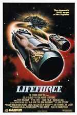 Lifeforce Poster 01 Metal Sign A4 12x8 Aluminium