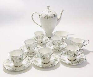 Tuscan Coffee Set 15 Piece Rondeley Bone China Serving Tableware