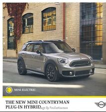 2017 Mini Cooper S E Countryman All4 Hybrid Original Sales Brochure Folder