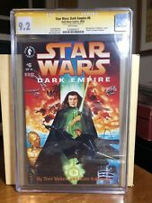 Star Wars Dark Empire 6 CGC SS 9.2 Dave Dorman 1992  Signed By Cover Artist