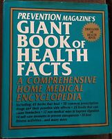 Prevention Magazine's Giant Book of Health Facts Home Medical Encyclopedia HC/DJ