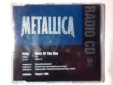 METALLICA Hero of the day cd singolo PR0M0