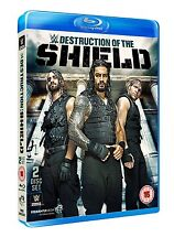 WWE The Destruction Of The Shield [2x Blu-ray] *NEU* Roman Reigns, Dean Ambrose