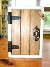 KEY CUPBOARD Solid Wood Rustic Handmade wooden wall cupboard unique