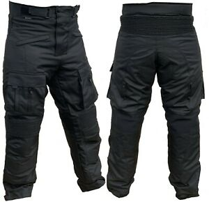 Motorradhose Protektoren Herren Textil Motorrad Enduro Hose Roller Größe S - 5XL
