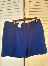 ☆☆NEW The Loft Blue Shorts with tags Size 2 six inch inseam
