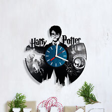 Harry Potter Vinyl Record Clock Handmade Home Decor Wall Art Souvenir