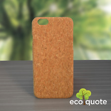 EcoQuote iPhone 7 / 8 Handmade Phone Case Hard PC Cork Finishing Great for Vegan