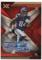 2019 Panini XR /25 Irv Smith Jr RC Rookie Auto Autograph Card Minnesota Vikings