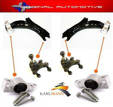 Se adapta a VW Golf MK5 2004 > Frontal Inferior Wishbone Brazo balljoints & Bush + kit de perno