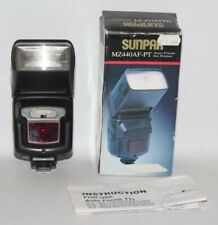 Sunpak MZ440AF-PT Bounce/Swivel/Zoom Flash for Pentax AF - Box/Manual - vgc